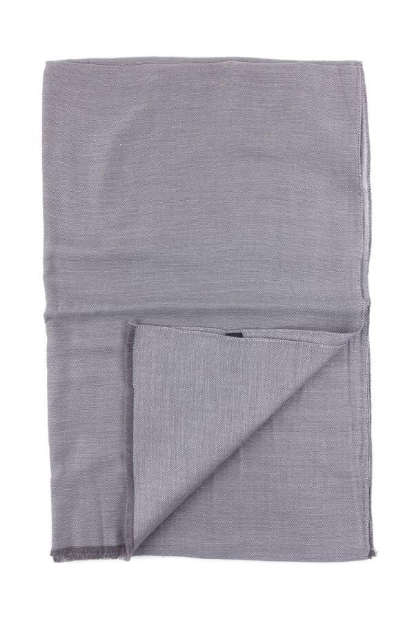 Sciarpa  Cotone/Modal UNICO - Grigio Scuro