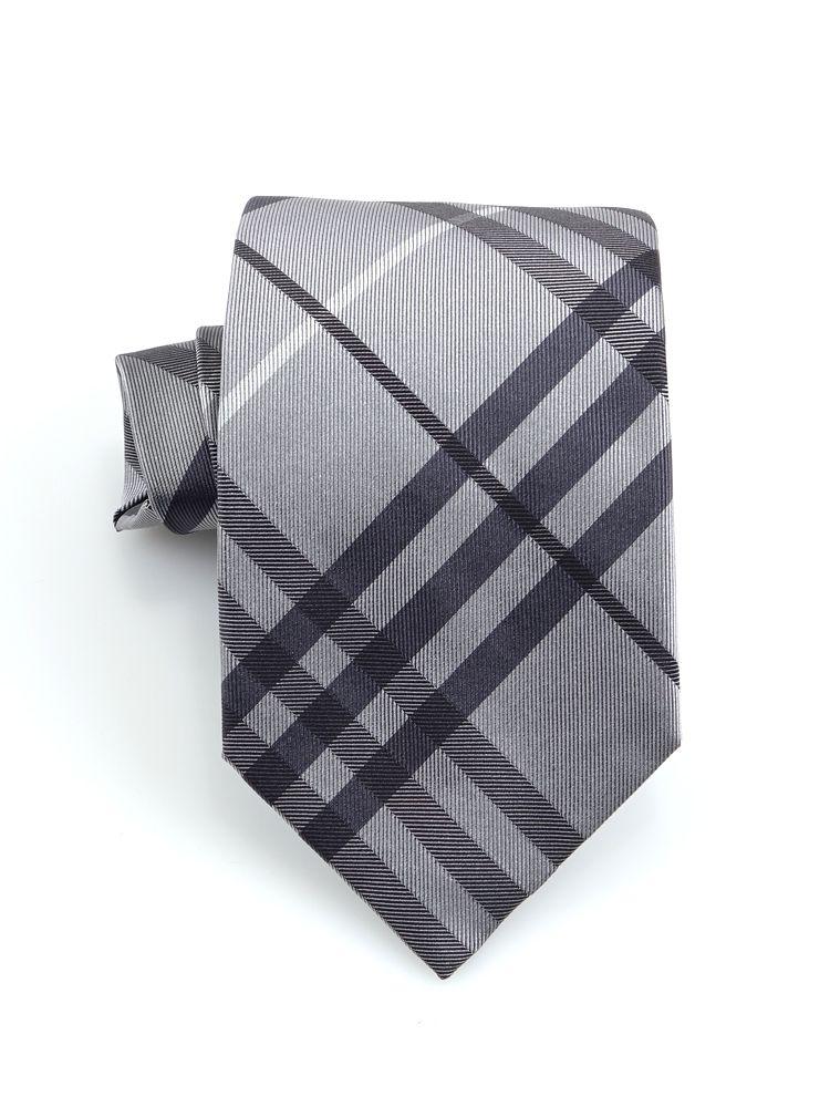 cravatta grigia
