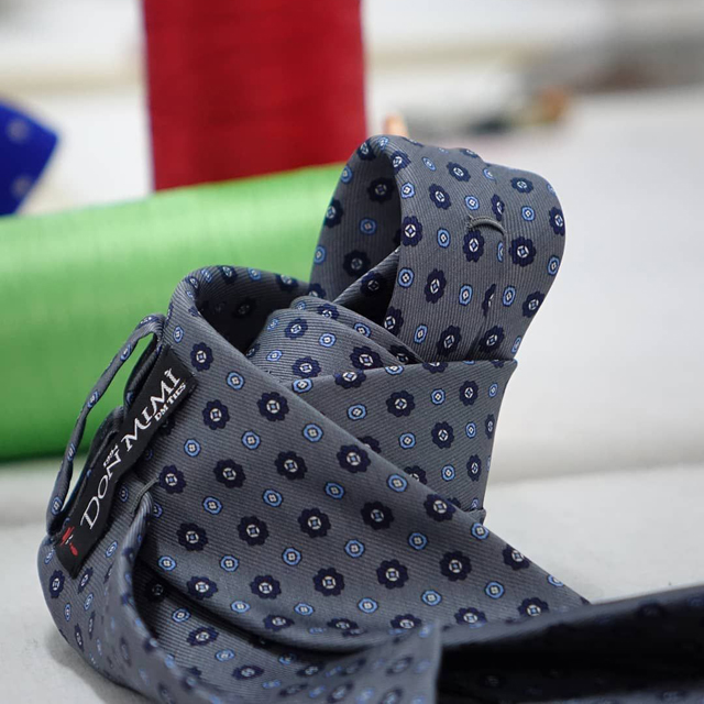 cravatte in pura seta artigianali