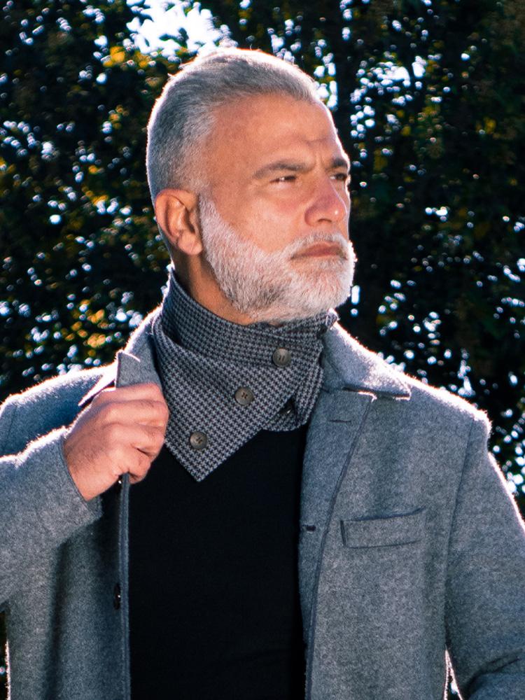 Scaldacollo in lana - Collezione Zazà autunno 2020