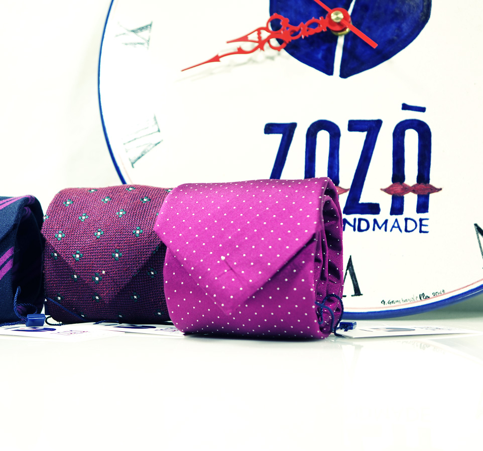 Neckties and accessories Zazà 2020 spring/summer collection
