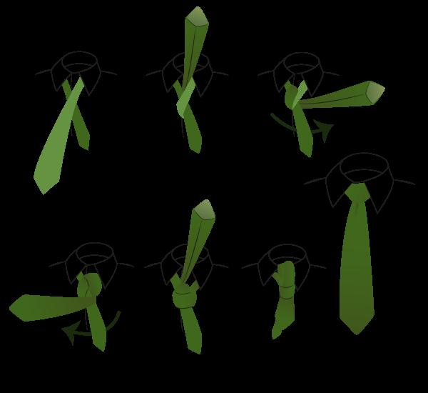 come fare il nodo windsor alla cravatta