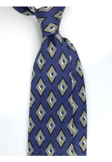 Cravatta 3 pieghe BATALA in seta Newcatwill -Jeans