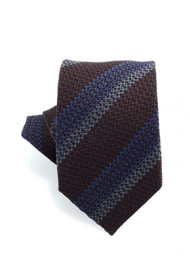 Cravatta 3 pieghe BARAMIA in seta