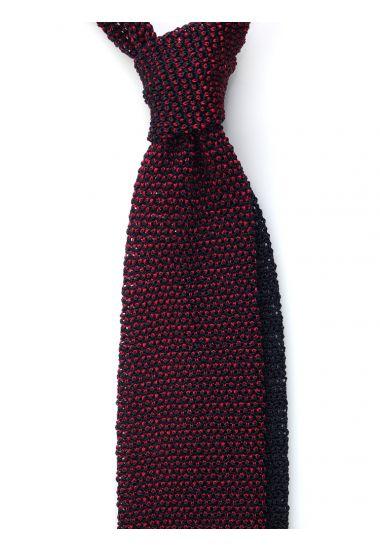Cravatta a maglia META-Rossa