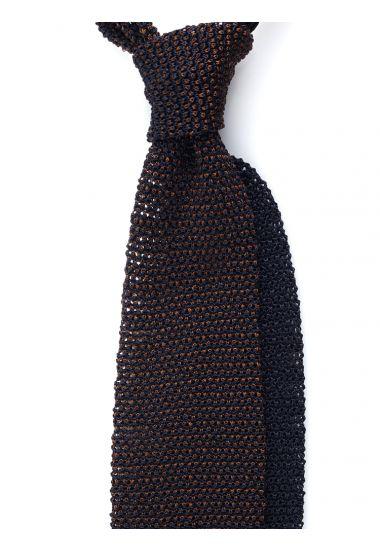 Cravatta a maglia META-Giallo scuro