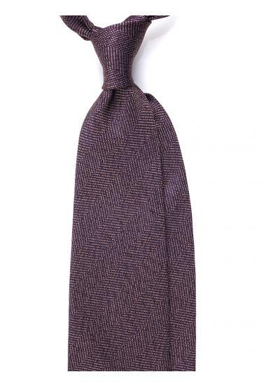 Cravatta 3 pieghe LX181 in seta_Beige