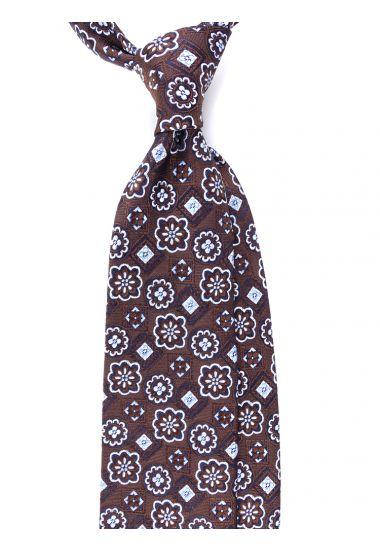 Cravatta 3 pieghe in seta INDIA