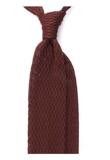 Cravatta a maglia CAPRI-Marrone