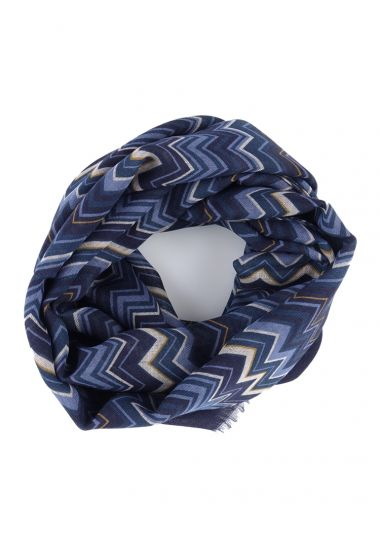 Sciarpa in lana ERFURT-Blu