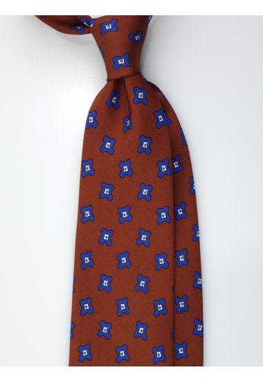 Cravatta 3 pieghe in seta Twill  ARTEMISIA
