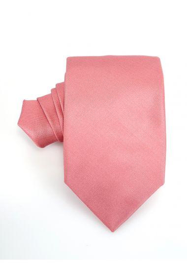 Cravatta 3 pieghe UCRIAII in seta-Arancione