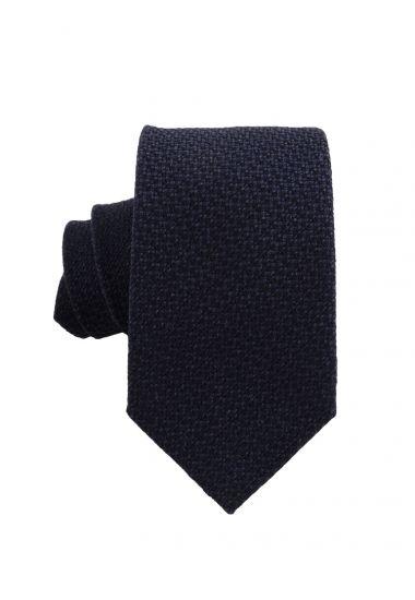 Cravatta 3 pieghe seta/lana IVONA