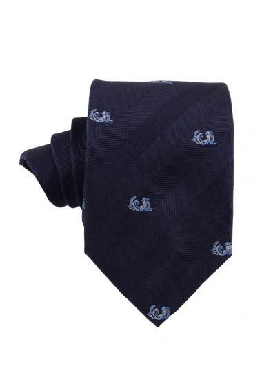 Cravatta 3 pieghe in seta ZODIACO