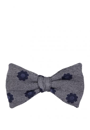 Silk/cotton bow ties POLIRA