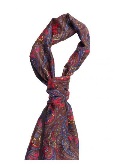 Silk and modal cachemire scarf ALMERIA