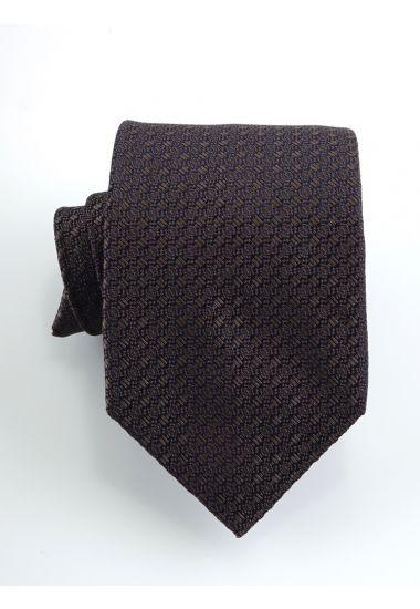 Cravatta 3 pieghe URANO  in seta-Beige