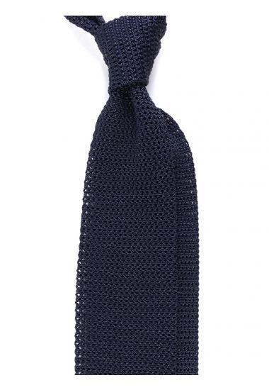 Cravatta a maglia AMALFI_Blu