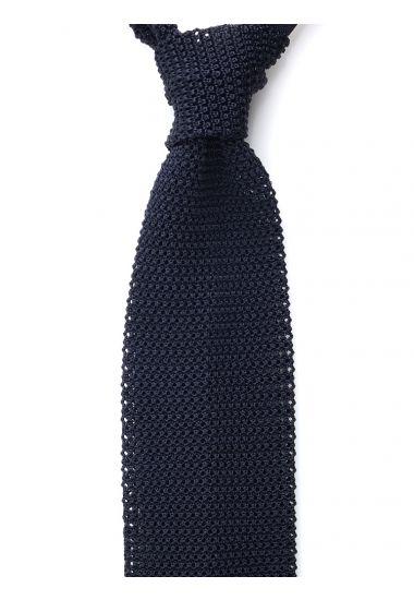 Cravatta a maglia MACCA-Blu