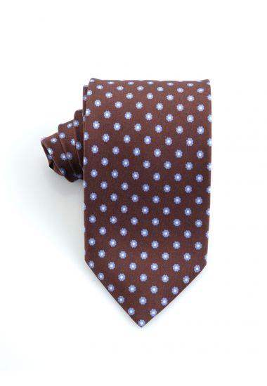 Cravatta 3 pieghe in seta Twill  LUANDA