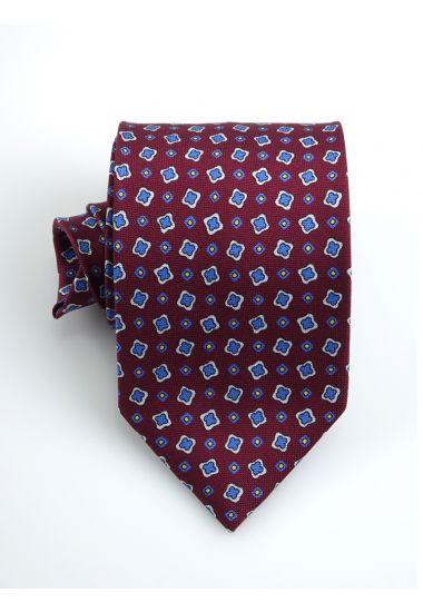Cravatta 3 pieghe in seta panama LIZZIE