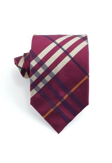 Cravatta 3 pieghe in seta  TENZIO