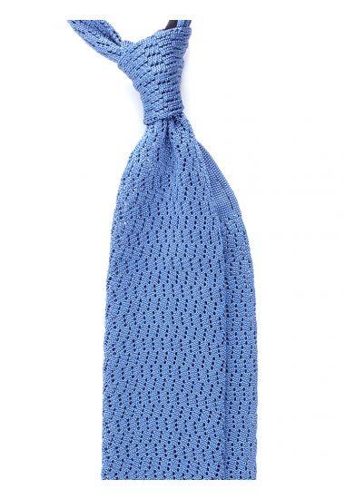 Cravatta a maglia CAPRI-Blu Avion