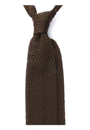 Cravatta a maglia CAPRI-Verde Oliva