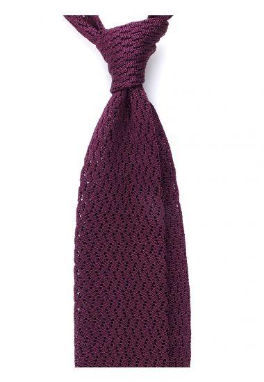 Cravatta a maglia CAPRI-Vinaccia