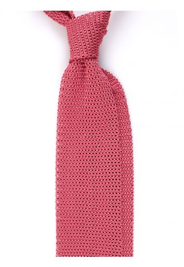 Cravatta a maglia AMALFI_Corallo