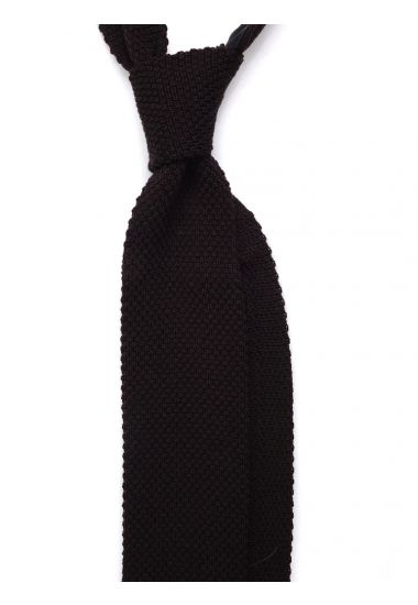 Cravatta a maglia di lana CIFERO-Verde1