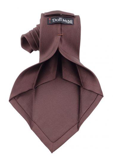 7 fold-tie DACCA - English printed silk