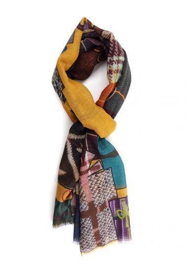 100% Wool scarf FIOCCO