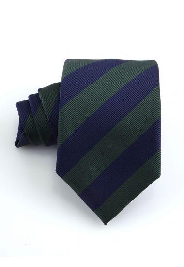 Cravatta 3 pieghe SIRACUSA in seta-Verde