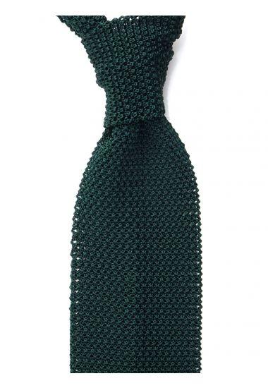 Cravatta a maglia MACCA-Verde