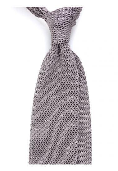 Cravatta a maglia AMALFI_Grigio