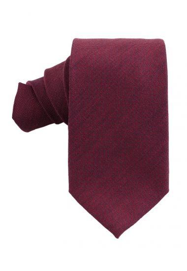 Cravatta 3 pieghe OSTRA-Bordeaux