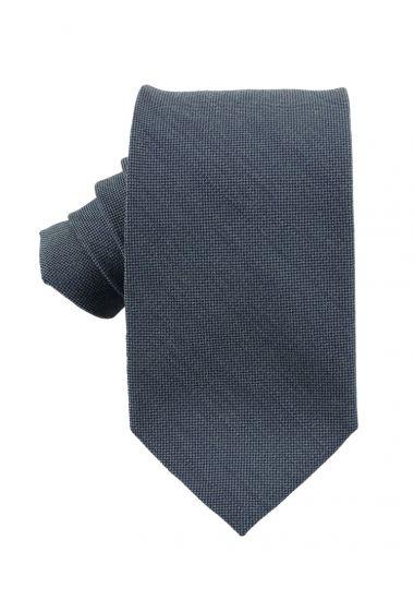 Cravatta 3 pieghe OSTRA-Verde oliva
