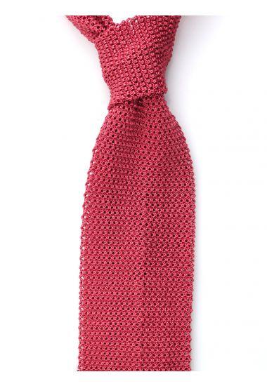 Cravatta a maglia MACCA-Rosa