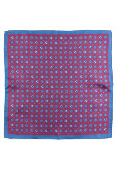Silk pocket square ABACO