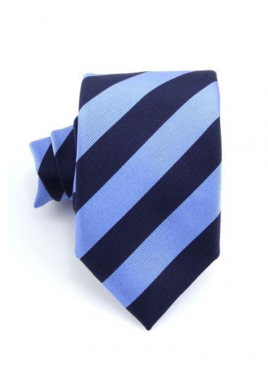 Cravatta 3 pieghe SIRACUSA in seta_ Celeste