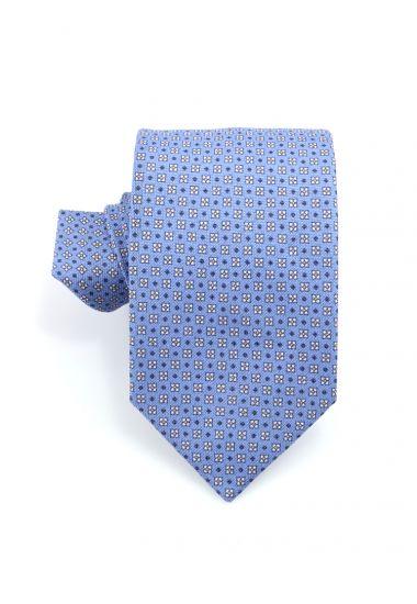Cravatta 3 pieghe in cotone  PALLINO