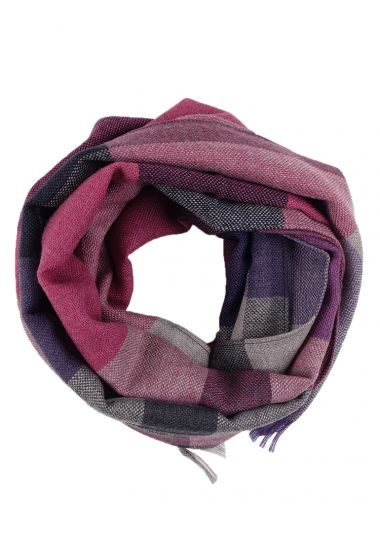 100% Pure wool scarf STONE