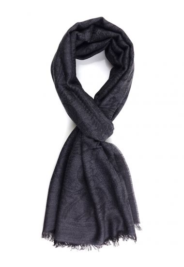 100% Wool scarf WORLD