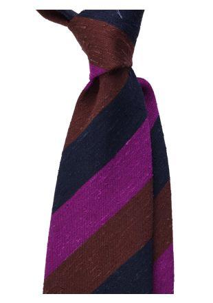Cravatta 3 pieghe BIBIA- Seta shantung