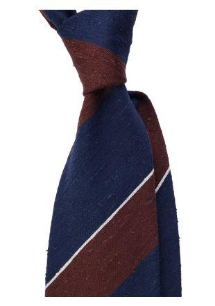 Cravatta 3 pieghe DEDALA in seta shantung
