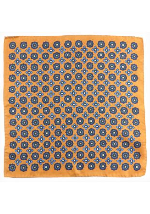 Silk pocket square ONDINA
