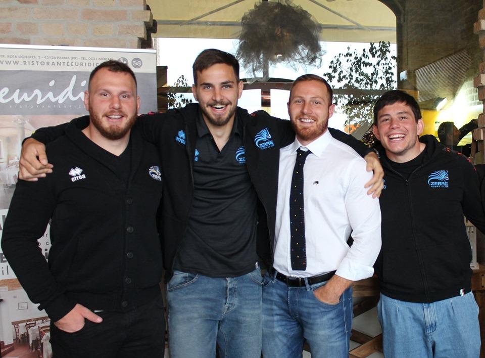 Zebre Rugby testimonial DM Ties